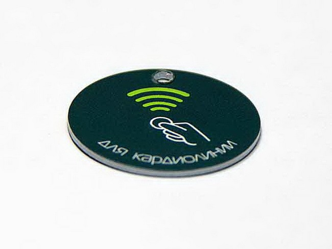 RFID Card TK4100 coin coin card F08 coin card PVC coin card RFID tag