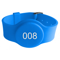 LF 125KHZ Silicone Wristband RFID EM4200/ TK4100 Chip For Swimming Management