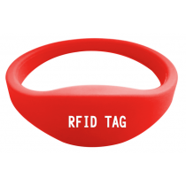 UHF RFID SW164 Library Silicone Wristband For Swimming Pool