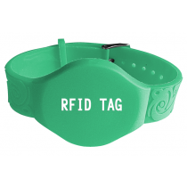 LF 125KHZ EM4100 RFID Wristband Tag For Swimming Management