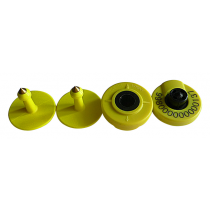 SE105 new  animal RFID electric ear tags for slaughter management and animal identification