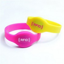 RFID Waterproof RFID Silicone Wristband Bracelet Watch Band Watch T5577 Card Swim Hand Original Philips T5577 Chip