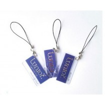 Customized Shape Printable Rfid SD007 Cards And Key Rings
