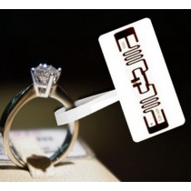 Tamper Proof UHF/HF RFID SJ135 Ring Jewelry Tag For Tracking