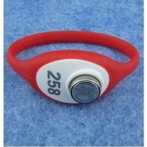 Waterproof Sauna Bath Rfid SW686 Silicone Plastic Wristband