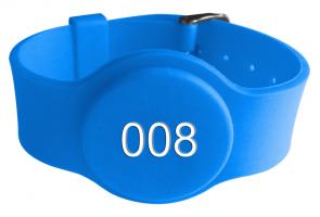 LF 125KHZ SILICONE WRISTBAND RFID EM4200/ TK4100 CHIP for swimming management