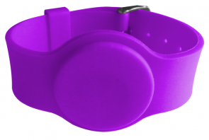 SW133 Passive LF 125khz silicone wristband rfid EM4200/ TK4100 chip