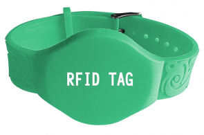 LF 125KHZ EM4100 RFID wristband tag for swimming management