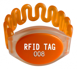 EM4205 chip LF RFID wristband tag SW635 for event swimming pool gymnasiuma