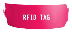 SW303 HF RFID HF WRISTBAND TAG FOR AIRPORT BAGGAGE/BEACH/PRISON MANAGEMENT
