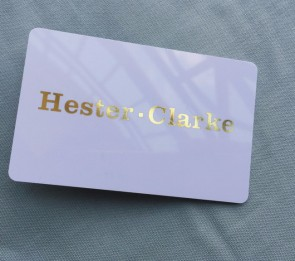 Fashion foil stamping RFID card SD509 grossy finishing RFID card irregular shape RFID card