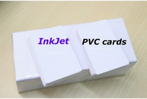 Inkjet printable White Card Glossy inkjet Blank PVC Card for EPSON Canon series printer 230pcs/Lot