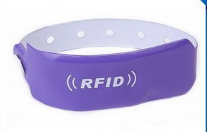 waterproof and resist high temperature  pvc rfid SW675 saccess control wristband