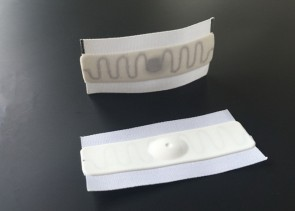 SY061 Flexible UHF Fabric Silicone Luandry Tag  for laundry and linen management