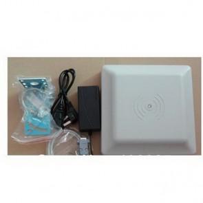 UHF RFID card reader 6m long range,integrated 8dBi circular polarized UHF Far Field antenna Read 6M Integrative UHF RFID Reader
